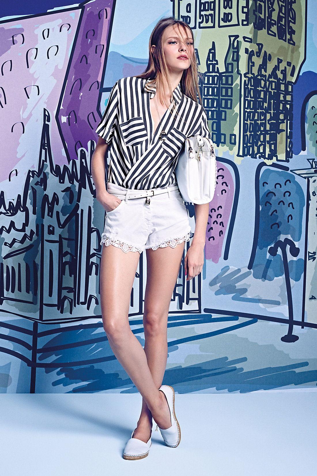 Camicia-a-righe-e-shorts-Patrizia-Pepe-estate-2015